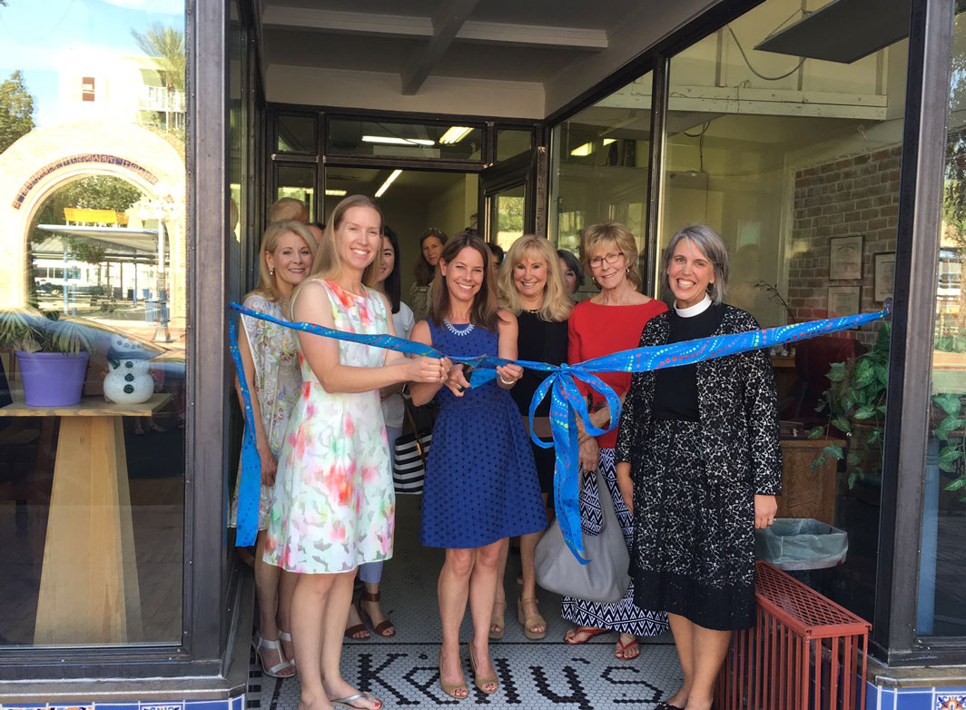 Ribbon cutting with our favorite Angels! Yay!